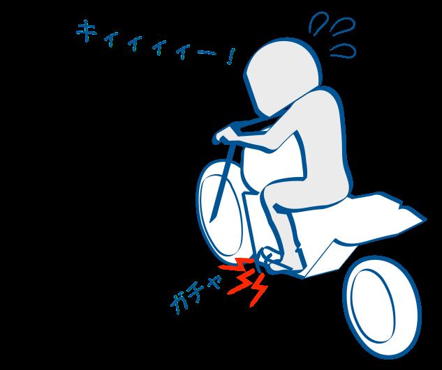 二輪教習シフトアップは回転数が大事