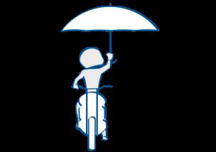 二輪教習雨天のコツ