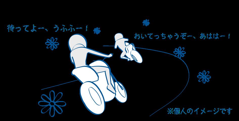 バイクで公道デビュー自分よりちょっと上手い人と走る