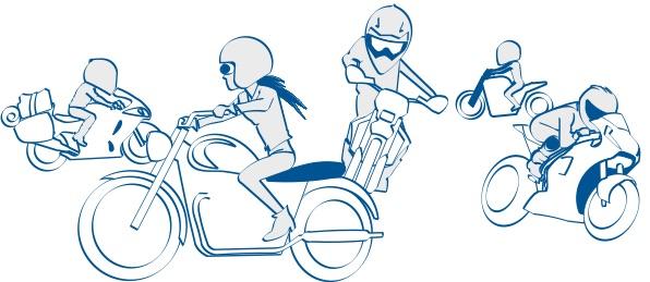 バイク選びにはいろんなニーズがある