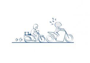 バイクで公道デビュー公道の流れが速いと感じたら