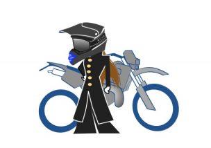 女だってオフロードバイク