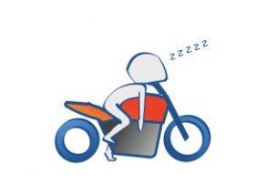 バイクのかっこいい信号待