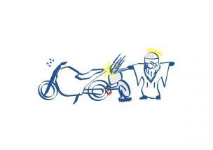 バイクの整備はメンドウ