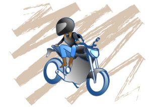 バイクで転倒して恐怖心が拭えない