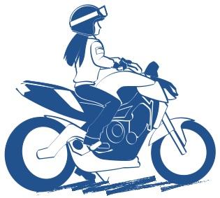 バイクに想いをのせれば意味が生まれる絵の図