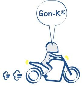 コピーライトGon-Kの絵の図