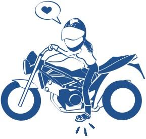 sv650バイクの足つきの絵の図