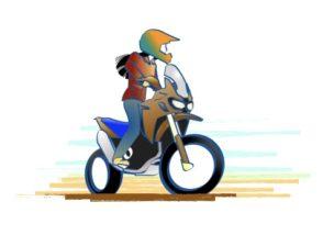 バイクに乗れば自分の決めた道を好きなだけ走れる