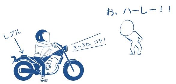 バイクはみんなハーレーだと思ってる