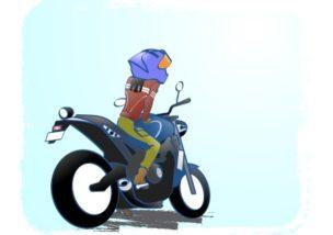 バイクはユルく!