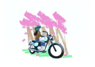今頑張れば春にはバイク乗りです