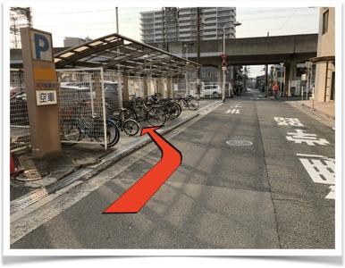 駐輪場の図