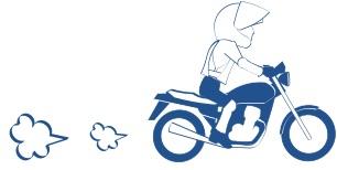 小型二輪免許の図