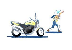 バイク 基本的なことは聞き難い
