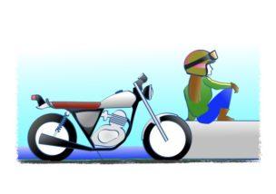 あくらめなければバイク乗りになれるの図