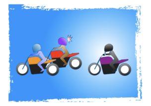 バイクでコロナ?Stay_homeの図