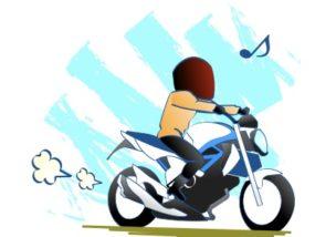 還暦近くてもバイクは楽しいの図