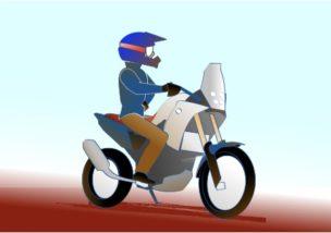 バイク乗りはバカだと思うの図