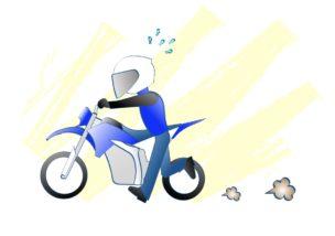 バイクの音はなくてもいいかもの図